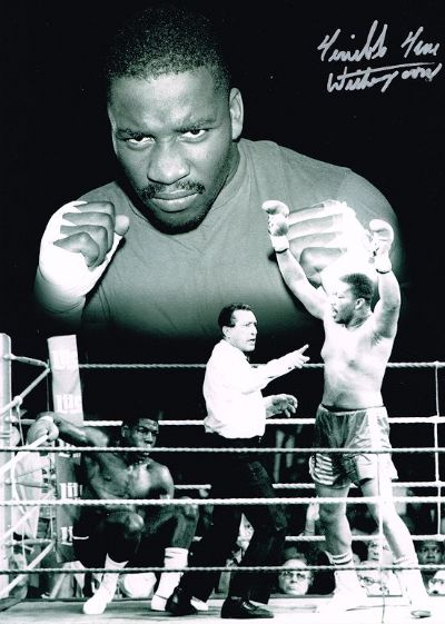 Tim Witherspoon Autograph Signed Photo